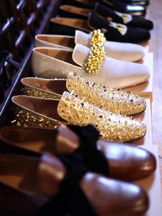 gold spiked loafers mens