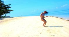 I can do this all over again in this white sand beach in Dos Palmas Resort in Palawan, Philippines