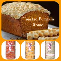 Toasted Pumpkin Bread Pumpkin Bread Farm House Cider Toasted Marshmallow Delicious Fall Treat  Personalize your scent today Contact me at  www.pinkzebrahome.com/judis_sprinkles www.facebook.com/pinkzebrarecipeswithjudi