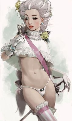 lorgnette by whiskypaint
