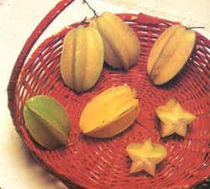 Carambola or star fruit. We called it Birambi. Ate too much of it.