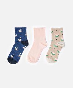 Swan Lake Socks #oysho #socks