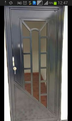 Balcony Grill Design, Window Grill Design, Steel Gate Design, Door Gate Design, Wrought Iron Doors, Metal Gates, Stainless Steel Gate, Steel Doors And Windows, Door Grill