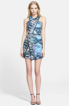 Free shipping and returns on Parker 'Tobias' Asymmetrical Body-Con Dress at Nordstrom.com. Prismatic, jewel-toned refractions color a future-forward sheath fashioned from black-tipped panes of fabric.