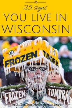We are the loud, the proud, Wisconsinites. We love our cheese, beer, and of course, our Green Bay Packers.