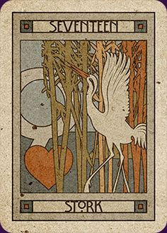 17/39. Stork - Chelsea-Lenormand by Neil Lovell