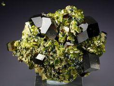 Quebul Fine Minerals Gem Garnet Var Andradite Gem Epidote Afghanistan | eBay