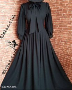 Stylish Dresses, Simple Dresses, Women's Dresses, Casual Dresses, Modest Fashion Hijab, Abaya Fashion, Fashion Dresses, Moslem Fashion, Hijab Dress Party