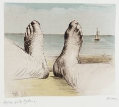 Henry Moore OM, CH 'Feet on Holiday I', 1979 © The Henry Moore Foundation, All Rights Reserved, DACS 2014