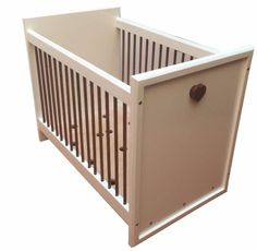 The Nuni First Love cot is made from supawood and salignawood. It has 2 base adjustment and is standard size. Please visit our website for more products or call us on 081 768 8124