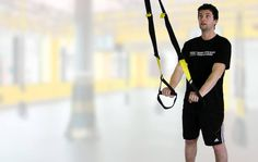 Incorrect start of the TRX exercise - http://www.coretrainingtips.com/6-most-common-mistakes-during-the-trx-workout/