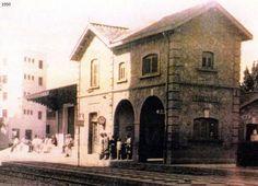 estación ferrocarriles Torremolines, años 1950