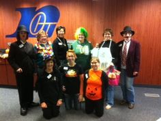 RCU (Royal Credit Union) Rice Lake, WI Office showing off their Halloween Spirit!