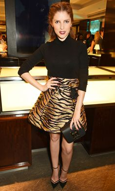 Anna Kendrick in Kenzo attends the GQ Style x Tiffany & Co. event in London. #bestdressed