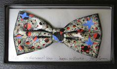 Hand-painted-bow-ties-by-Dublin-artist-John-Kirwan – Vincent Keeling Bow Ties, Dublin, Art History, Bows, Hand Painted, Nightingale, Artist, Paintings, Arches