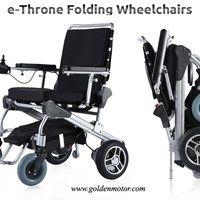 Power Wheelchair at Cheapest Price in India-E Throne Power Wheelchair