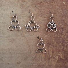 Yogi necklace Infinity jewelry Yoga gift Heart pendant
