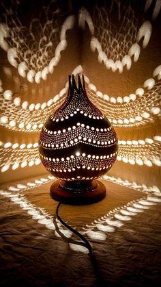 LABOR DAY SALE La gourde lampe art déco turc Ottoman