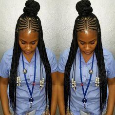 87 Cornrow Hairstyles for Black Women Ideas in Next time you're stuck trying to think up new ideas for your natural hair, try one of these stunning looks. Whether you have short hair, long braids, ., Cornrow Hairstyles for Black Women Black Girl Braids, Braids For Black Hair, Girls Braids, Fulani Braids, Ghana Braids, Pelo Afro, African Braids Hairstyles, Protective Hairstyles, Protective Styles