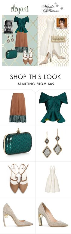 """""""Untitled #89"""" by riuk ❤ liked on Polyvore featuring Valentino, Emilio De La Morena, Vivienne Westwood, Dana Kellin, Brock Collection and Nicholas Kirkwood"""