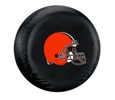 Cleveland Browns Black Tire Cover - Size Large - New Logo