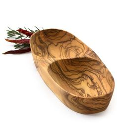 Olive Wood Appetizer Dish   Home Decor   bambeco   Scoutmob Shoppe   Product Detail