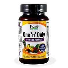 Pure Essence Labs One 'n' Only Women's Formula - Power Packed Once Daily Multiple For Women - 90 Tablets