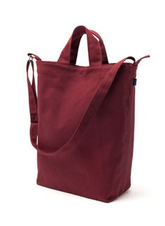 Baggu Canvas Duck Bag in Fig (or in Forest)