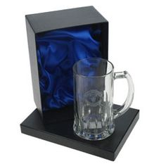 Personalised Manchester United Tankard in Gift Box - £24.99
