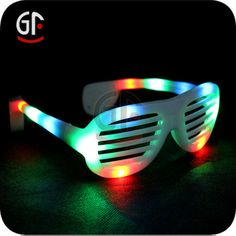 White Flashing Shutter Glass with Multi-color Led, View Flashing Shutter Glass, GF Product Details from Shenzhen Greatfavonian Electronic Co...