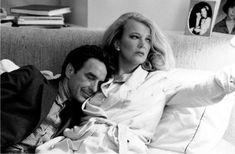 """John Cassavetes y Gena Rowlands. Foto: Crodon Press. Film: """"Nunca te fíes de una persona que trata de enseñarte algo en lo que ella ya ha fracasado"""""""