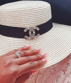 Instagram Chanel Hat, Chanel Fashion, Panama Hat, Affair, Bag Accessories, Cuff Bracelets, Bags, Instagram, Jewelry