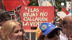 Decenas de opositores se manifiestan en Venezuela para apoyar a Leopoldo López