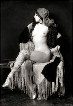 Virginia Biddle - Ziegfeld Performer by Alfred Cheney Johnston.