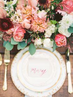 Beautiful wedding centerpiece idea; photo: Kate Anfinson