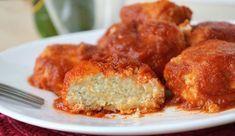 boulettes de ricotta à la sauce tomate WW, recette d'un bon plat léger, facile et simple à réaliser pour un repas accompagné d'une bonne salade.