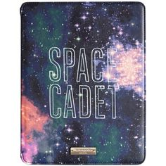 kate spade new york Space Cadet iPad Folio Hardcase ($63) ❤ liked on Polyvore featuring accessories, tech accessories, phone cases, multi and kate spade