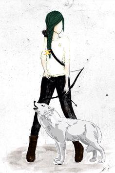 Hunter of Artemis (Thalia?) By Luna Grace De Lune