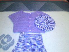 חצאית עליונית וכובע בארט לילדה בת 5 - כאן, סורגים בכיף!!! - תפוז בלוגים