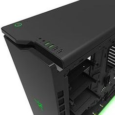 NZXT H440 Designed by Razer™ ATX Mid Tower Case (CA-H440W-RA) - PCPartPicker
