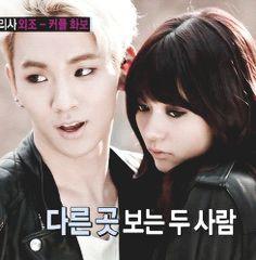Shinee Key WGM KeyAri Gorgeous couple!!-And yet another gorgeous smile from Key!