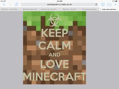 MINECRAFT!!!!! I want to put this in a frame for Payton.