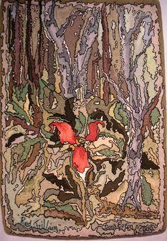 Doris Eaton, Nova Scotia, Canada Red Trillium