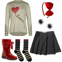 Cute  ... for Tweens. I would love to wear this for Valentines Day