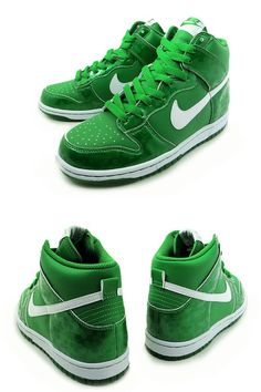 Nike Dunk High GS – St. Patrick's Day 2011
