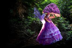 """""""The Foxglove Fairy"""" from the """"Wonderland"""" Series 