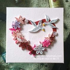 quilling valentine hearts