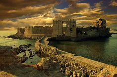 The Medieval Methoni Castle in Messinia, Peloponnese - GREECE