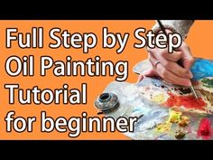 White Pitcher Full Step by Step Oil Painting Tutorial for Beginners