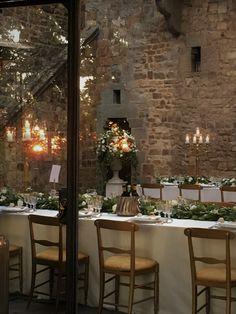Castello di Vincigliata COURT Seated Dinner for the Destination Wedding October was a perfect day